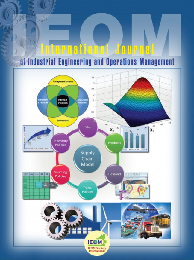 International Journal Of Industrial Engineering And Operations Management Ijieom Just Another Wordpress Site